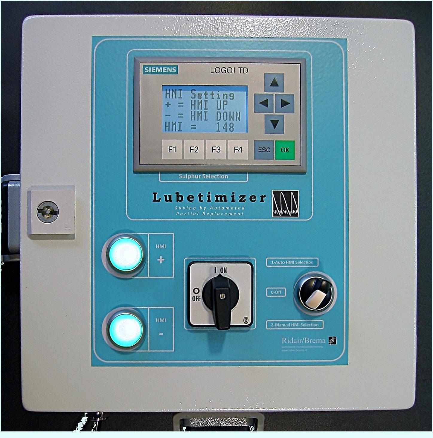 Lubetimizer control unit